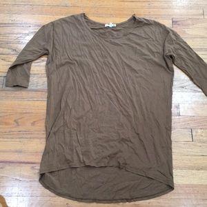 Sundry 3/4 sleeve tunic sz 0S